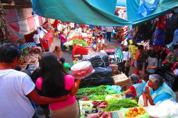 The market at Cuernavaca. Photo by Kirsten Fenn