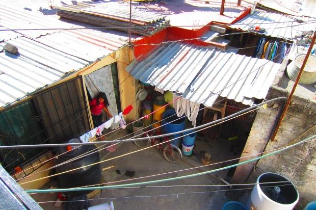 Houses in La Estación. Photo by Kirsten Fenn