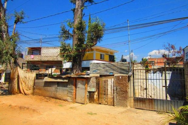 Housing in Cuernavaca. Photo by Kirsten Fenn