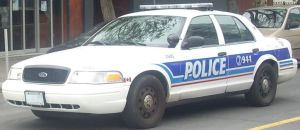 An Ottawa Police Services car.