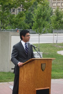 Ottawa Centre MPP Yasir Naqvi. Photo by Kirsten Fenn