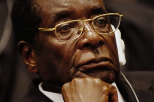 Robert Mugabe, who has been Zimbabwe's president since 1980, will be sworn into office again today.