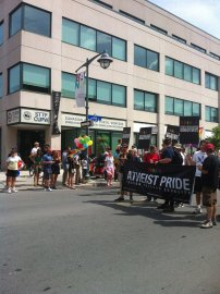 Atheist Pride. Photo by Brianna Harris