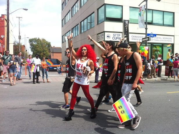 Capital Pride Parade. Photo by Brianna Harris