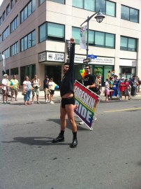 Loud and proud of his foreskin. Photo by Brianna Harris