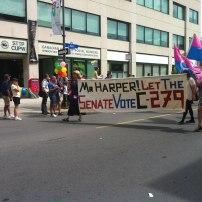 Bill C279: The transgender rights bill. Photo by Brianna Harris