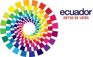 "Image of the ""ama la vida"" slogan I saw all around Quito."