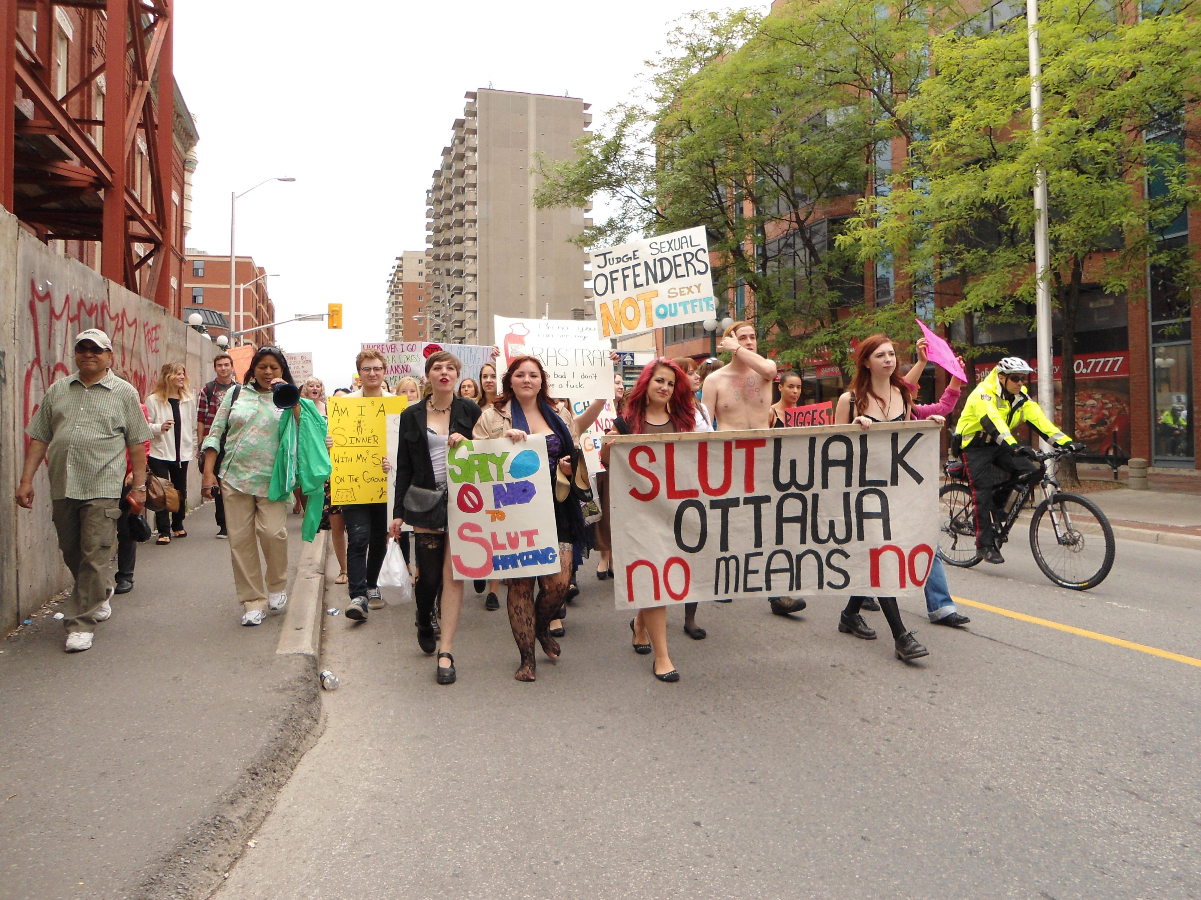 Think, Toronto slut walk photos