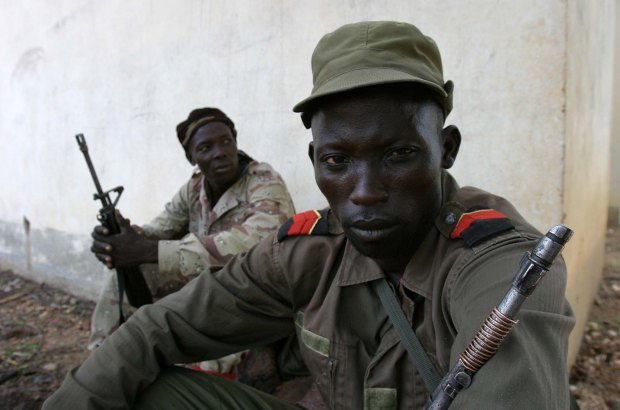 Rebels in northern Central African Republic in 2007, during an uprising to out former president François Bozizé. The current crisis in CAR developed out of the former rebellion. Photo by hdptcar/Wikimedia Commons