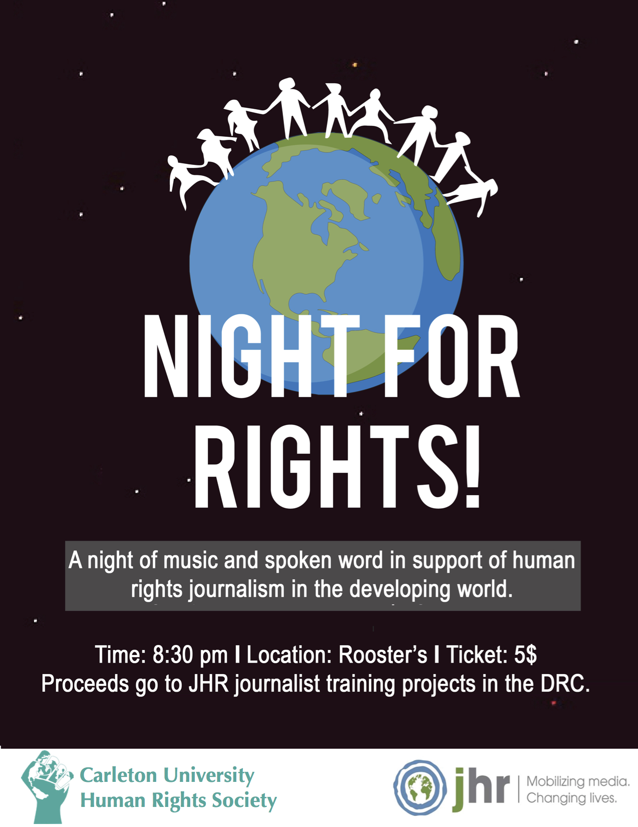 JHR Presents Night For Rights on Nov. 16!